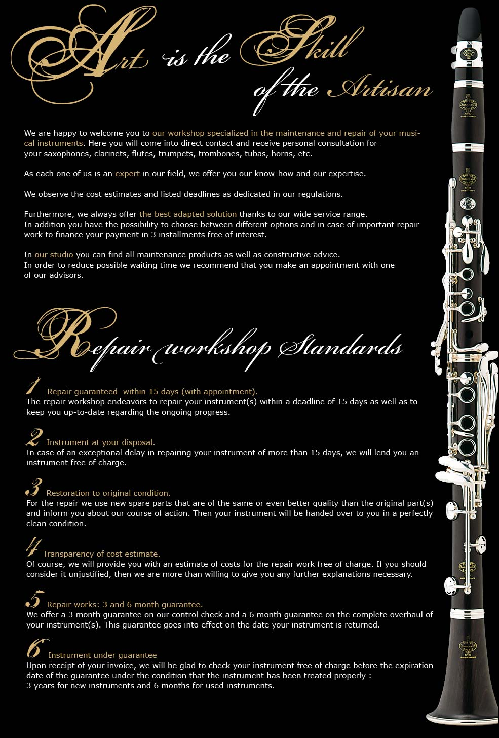 Brasssaxophonesflutesclarinets b stock altavistaventures Image collections