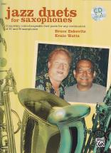 Eskovitz B./ Watts E. - Jazz Duets For Saxophone + Cd
