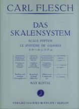 Flesch Carl - Le Systeme De Gammes