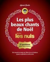 Les Plus Beaux Chants De Noel Pour Les Nuls - Cahier De Partitions