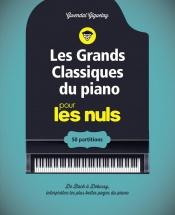 Les Grands Classiques Du Piano Pour Les Nuls - Cahier De Partitions