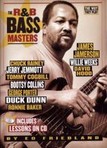 R&b Bass Masters - The Way They Play + Cd - Bass Tab