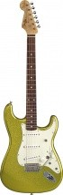 Fender Dick Dale Signature Stratocaster, Rosewood , Chartreuse Sparkle