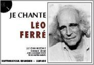 Ferre L�o - Je Chante Ferre