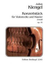 Klengel Julius - Konzertstuck D-moll Op. 10 - Cello, Piano
