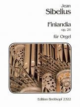 Sibelius Jean - Finlandia Op. 26 - Organ