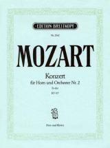 Mozart Wolfgang Amadeus - Hornkonzert Nr.2 Es-dur Kv 417 - Horn, Piano