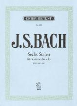 Bach Johann Sebastian - Sechs Suiten Bwv 1007-1012 - Cello