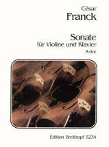 Franck Cesar - Sonate A-dur - Violin, Piano