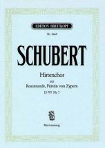 Schubert Franz - Hirtenchor D797/7 - Piano