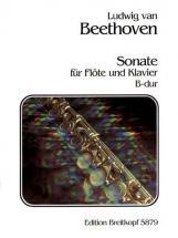 Beethoven Ludwig Van - Sonate B-dur - Flute, Piano
