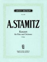 Stamitz Anton - Flotenkonzert D-dur - Flute, Orchestra