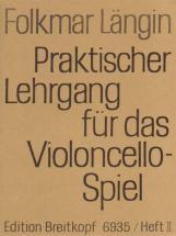 Langin Folkmar - Lehrgang Violoncellospiel 2 - Cello