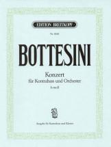 Bottesini Giovanni - Kontrabasskonzert H-moll - Double Bass, Piano