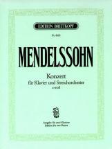 Mendelssohn-bartholdy F. - Klavierkonzert A-moll - 2 Piano