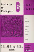 Invitation To The Madrigals Vol.6
