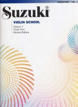 Suzuki Violin School Violin Part Vol.2 Rev. Edition - Violon