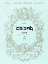 Tchaikovsky Piotr Ilyich - Serenade C-dur Op. 48 - String Orchestra