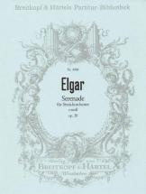 Elgar Edward - Serenade E-moll Op. 20 - String Orchestra