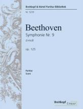 Beethoven Ludwig Van - Symphonie Nr. 9 D-moll Op. 125 - Soli, Choir, Orchestra