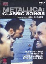 Metallica - Classic Songs, Drum Legendary Licks Dvd