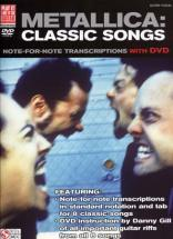 Metallica - Classic Songs + Dvd - Guitar Tab
