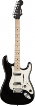 Squier By Fender Contemporary Stratocaster® Hh, Touche Erable, Black Metallic