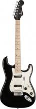 Squier By Fender Contemporary Stratocaster® Hh, Touche Erable, Black Metallic