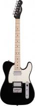 Squier By Fender Contemporary Telecaster® Hh, Touche Erable, Black Metallic