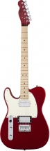 Squier By Fender Contemporary Telecaster® Hh, Touche Erable, Dark Metallic Red
