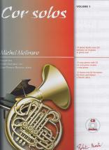Molinaro - Cor Solos Vol.1 + Cd - Cor, Piano