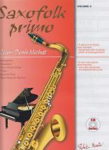 Michat J. D. - Saxofolk Primo + Cd - Saxophone