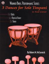 3 Dances Solo Timpani - Percussion Ensemble