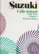 Suzuki Cello School Cello Part Vol.3