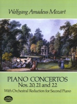 Mozart - Piano Concertos Nos 20, 21 And 22 Orch Red For 2 - Two Pianos