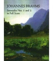 Brahms - Johannes Brahms - Serenades Nos. 1 And 2 In Full Score - Ensemble