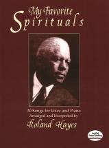 Hayes Roland My Favorite Spirituals Score - Voice