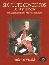 Vivaldi - Six Flute Concertos Op 10 Full Score - Orchestra