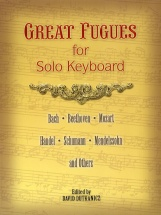Great Fugues For Solo Keyboard - Piano Solo