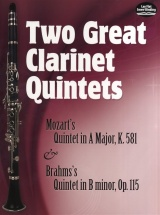 Two Great Clarinet Quintets - Clarinet