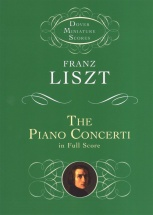 Liszt Franz The Piano Concerti In Full Score - Orchestra