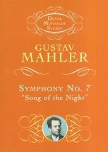 Mahler Gustav Symphony No.7 Song Of The Night Miniature Score - Orchestra
