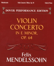 Mendelssohn Violin Concerto In E Minor Op 64 - Violin