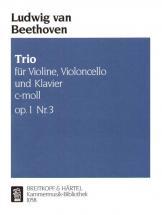 Beethoven Ludwig Van - Klaviertrio C-moll Op. 1/3 - Violin, Cello, Piano