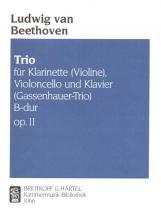 Beethoven Ludwig Van - Klaviertrio B-dur Op. 11 - Violin, Cello, Piano