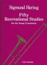 Hering - 50 Recreational Studies - Trombone