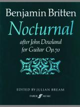 Britten - Nocturnal After John Dowland - Guitar