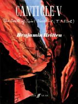Britten Benjamin - Canticle V. The Death Of St Narcissus - Voice And Piano (par 10 Minimum)
