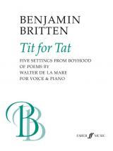 Britten Benjamin - Tit For Tat - Voice And Piano (par 10 Minimum)