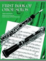 Craxton J / Richardson A - First Book Of Oboe Solos - Oboe And Piano